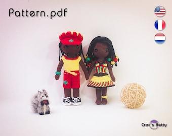 Pattern - Craquotin & Craquotine Jamaïca