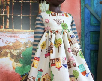 Woodland Village dress for Kaye Wiggs MSD