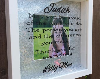 Personalised, 3D Frame