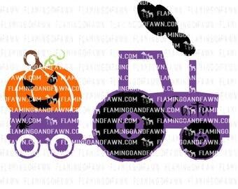 Tractor svg, pumpkin svg, harvest svg, boy svg files, tractor pumpkin svg, pumpkin truck svg, jack o lantern svg, boy halloween svg files