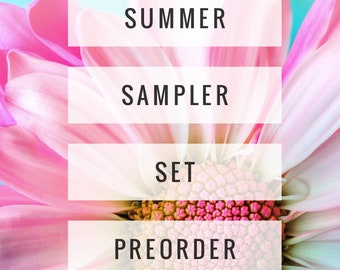 Summer Sampler Set Ultra Thick Whipped Lotions - Choose Your Set - PREORDER