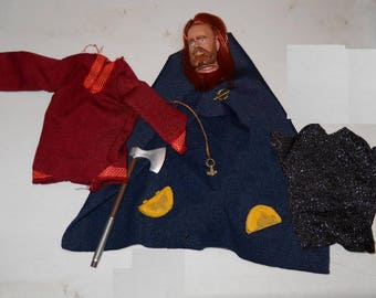 Viking action figure Accessory LOT