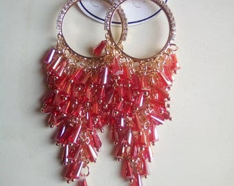 Stunning chandelier earrings