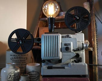Vintage Projector lamp. Quirky lamp