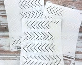 Foiled Corner Decor - Metallic Foiled Planner Stickers