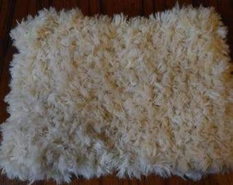 off white alpaca and wool snood