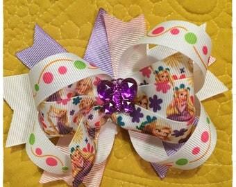 Disney's Rapunzel Tangled Hair Bow!