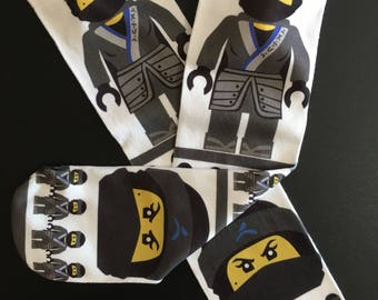 Nya Lego Ninjago Socks | Lego Socks | Lego Ninjago Gift  | Ninjago Birthday Gift | Kids Socks |  Ninja Socks | Ninjago Present