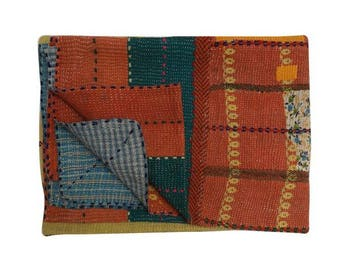 Kantha Throw Blankets  & Quilts