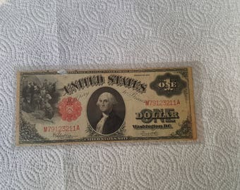 1917 Series US One Dollar Currency Nice