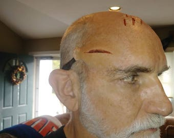 Silicone Scar Prosthetic for Blood Tubing