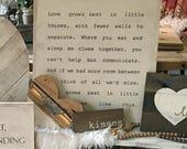 Love Grows Best in Little...