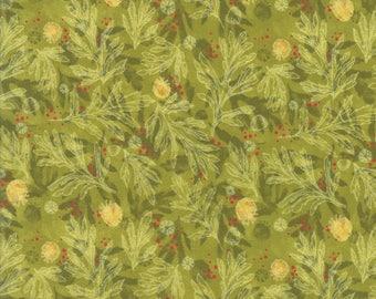 Moda POPPY MAE Quilt Fabric 1/2 Yard By Robin Pickens - Leaf 48603 15