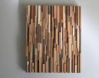 Modern Wood Wall Art- Home Decor- Wood Wall Art-Rustic decor