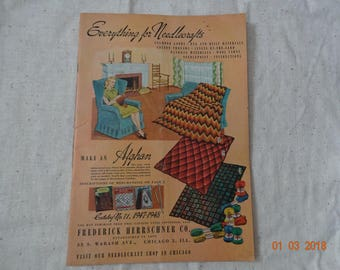Everything for Needlecrafts Catalog from the 40's