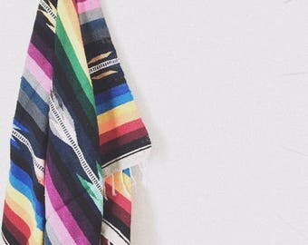 The Stripe Mexican Blanket