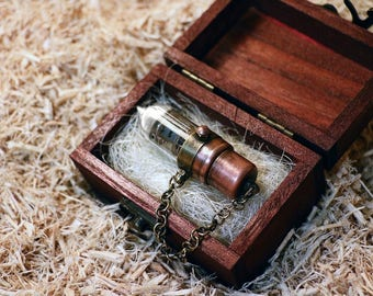 Handmade Steampunk Modification 32GB USB 3.0 Flash Drive Stick COPPER Mod Gadget Pentode Tube