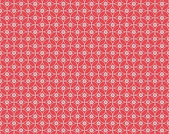 Red Chain Quilt Fabric - Daisy Days - Riley Blake Designs - Keera Job - C6286