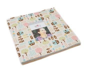 Home Sweet Home Layer Cake - Stacy Iest Hsu - Moda Fabric - 42 pieces