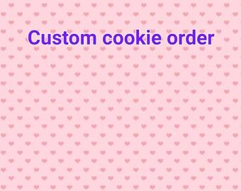 18 custom cookies