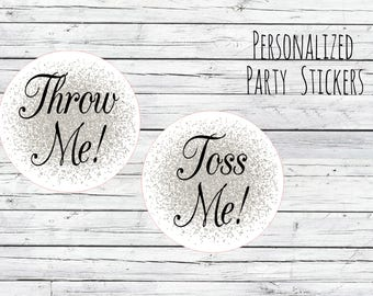 Personalized Wedding Stickers, Favor Tags, Labels, Thanks for Coming,Wedding Labels, Wedding Favour Stickers, Wedding Ideas You Choose Size