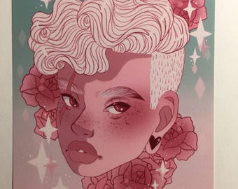 Candy Lars Steven Universe Art Print