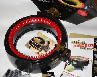 Addi Express Kingsize, Diy knitting kit, Knitters gift, Original knitting machine kit