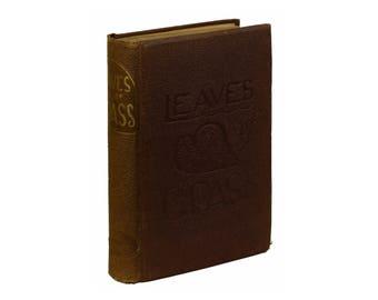 Leaves of Grass by WALT WHITMAN ~ Third Edition 1860 - 1861 ~ Richard Worthington Printing of Thayer & Eldridge 3rd Edition