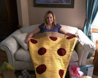 Pizza blanket - snuggle blanket - snuggle sack