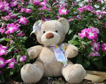 Lillith plush teddy bear pur