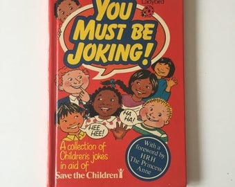 Vintage Retro 1980s 80s Ladybird childrens joke book - You Must be Joking 1986
