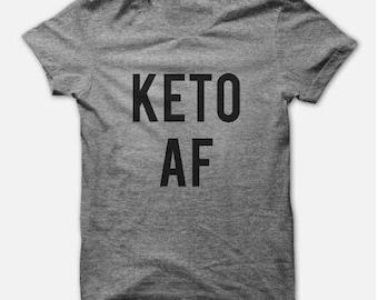 Keto Shirt - Keto Tee - Keto AF - Keto T-Shirt Tank - Ketosis - Keto OS - Keto Diet - Workout Tank - Workout Tee - Funny Keto Shirt - Pruvit