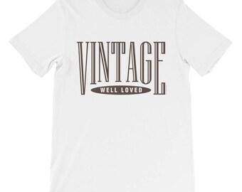 Vintage Unisex short sleeve t-shirt