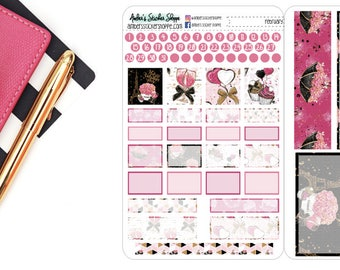 Valentines Day February Monthly Kit for Pocket Travelers Notebook