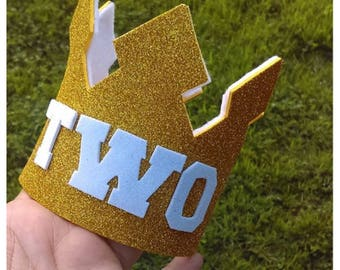 Royal Crown, Birthday Crown, Gold Crown, Princess/ Prince Crown
