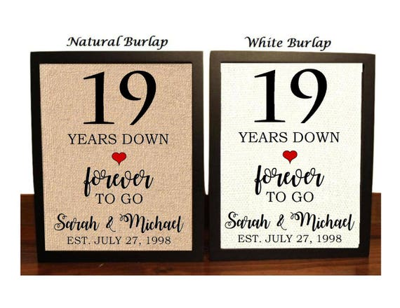 Wedding Gifts By Years: 19th Anniversary Gift 19th Wedding Anniversary Gift Gift