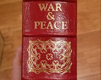 Easton Press war and peace by tolstoy