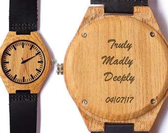 Husband Gift, Mens Wooden Watch, Brother Gift, Gifts for Dad, Will you be my groomsman, Mens Gift, Boyfriend Gift, Gifts for Him, Dad Gifts