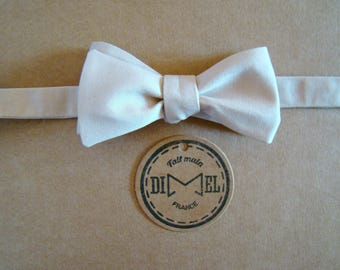 Bow tie adjustable rose to order