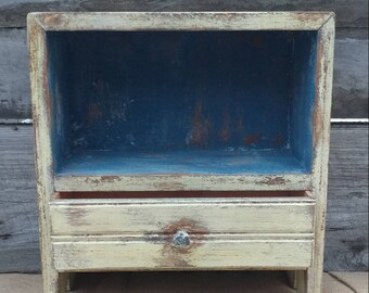 Distressed Farmhouse/Lake Cottage Cabinet