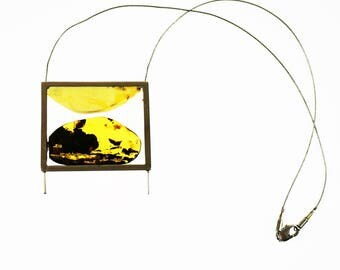 E.Salwierz Design Amber Necklace,32 g