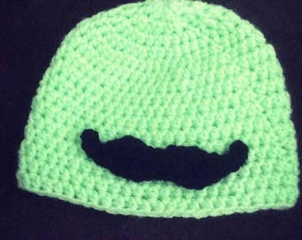 I Mustache You a Question Beanie Hat