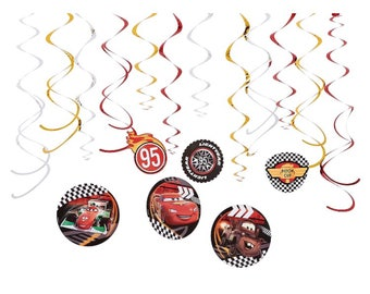 Cars party hanging decoration