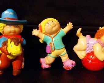 Vintage 1980s CPK PVC  Figurines!!!!