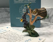 "Alice in Wonderland Figurine Collection The Heirloom Tradition 1982 The Hamilton Collection ""The Cheshire Cat"" H4902, Item #SUE"