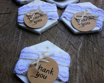 Honey lavender soap Wedding bridal favors made by hand. Rustic Barn Wedding Favors. Country Wedding Favors, Eco-friendly Soap,baby showers