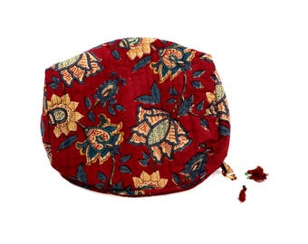 Indian Cotton Banjara Floral Design Clutch Bag in Multi Color