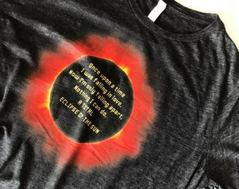 """Women's Fit """"Total Eclipse of the Sun"""""""