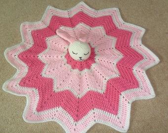 Snuggly bunny blanket