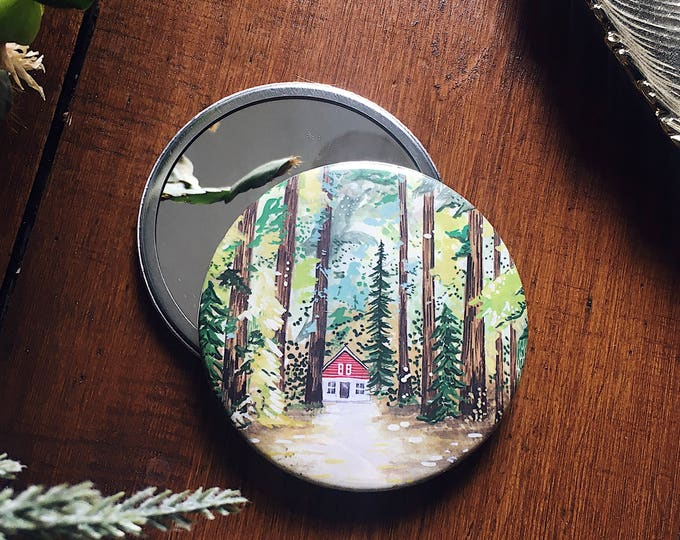Forest Pocket Mirror